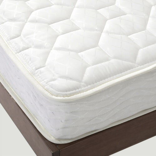 Spring Mattress Full Size Bed Comfort 6 Bunk Bedroom Home Coil Plush Brand New