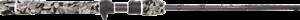 Samaki Zing Travel Baitcaster Rod 6  SZG-603BM 3 Pc Graphite Rod 6-12 Lb + Case