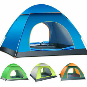 5-8Person Outdoor Tent Portable Waterproof Camping Canopy Shade Beach Shelter UK