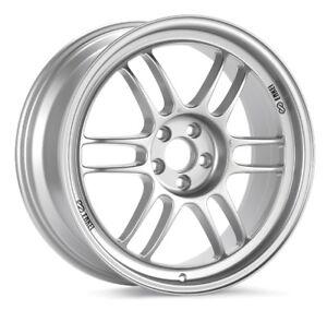 15x8-Enkei-RPF1-4x100-28-Silver-Rims-Fits-Civic-Ef-Ek-Eg-Miata-Mr2