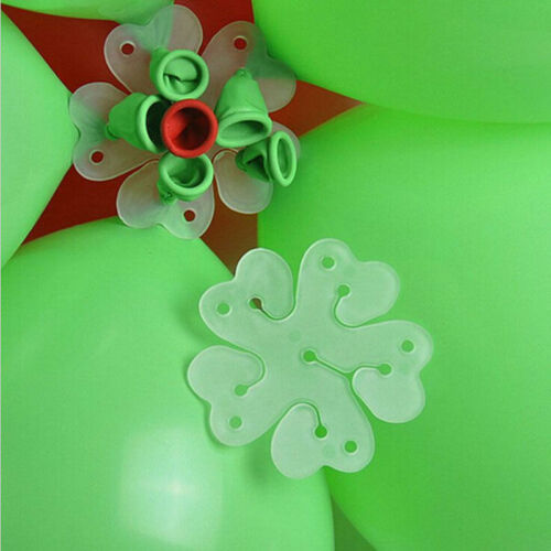 10 Stk Luftballon Blumen Klips Ballon Halter Party Kreativ Kunst Dekoration Cilp