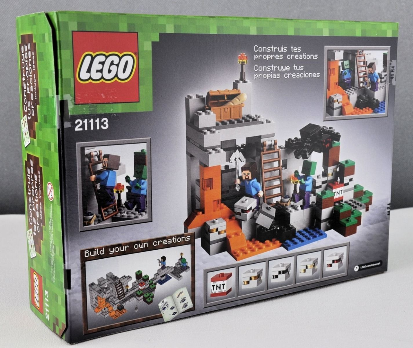 New LEGO Minecraft The Cave Building Toy Inspiration Included - 249 pcs Age 8+