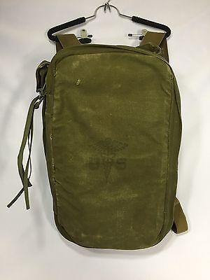 Post Vietnam Original U S Army M5 Military Field Medical Medic Bag Rare Euc