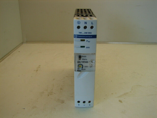 TELEMECANIQUE ABL7 RP2403 POWER SUPPLY XLNT