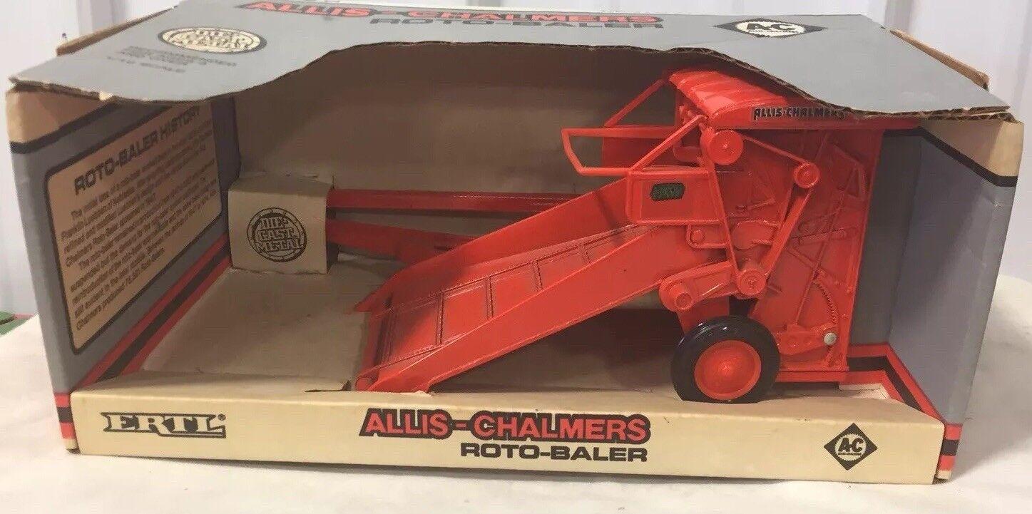 ventas en línea de venta Ertl Allis Chalmers rojoo empacadora empacadora empacadora 1 16 Nuevo En Caja  servicio de primera clase