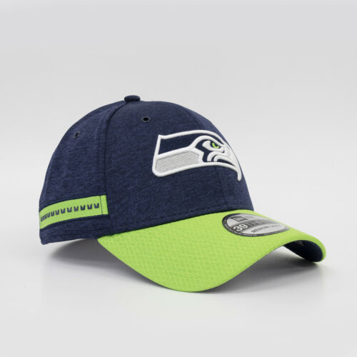 NEW Era 39 Thirty fitted Cap NFL SEATTLE SEAHAWKS Onfield Sideline Home Top Sale