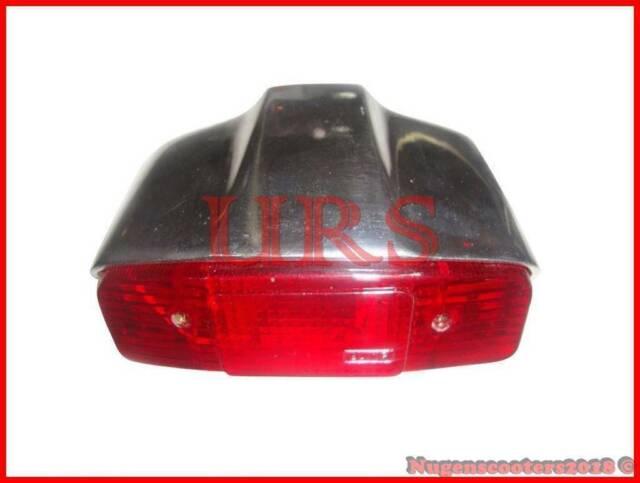 LAMBRETTA Rear Brake Light Lamp / Tail Light ALLOY POLISHED Li 150 Series 1,2,3