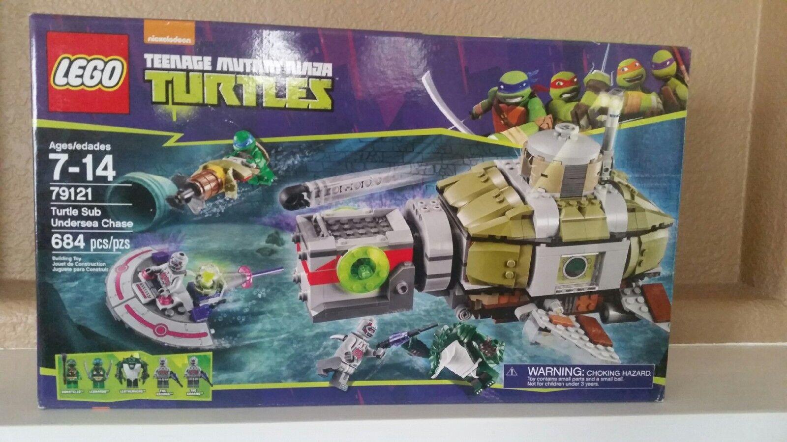 Lego-Nuevo en Caja  Teenage Mutant Ninja Turtles Tortugas sub submarina Chase