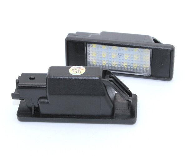 2x Kennzeichenbeleuchtung wei/ß Canbus f/ür 1995-2006 MB Sprinter 901 902 903 904 LT MK II 2D