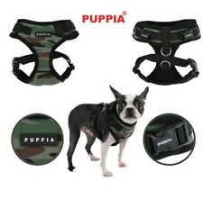 Puppia Adjustable Neck & Girth Dog Harness COMBAT RITEFIT GREEN CAMO-S