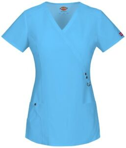 Scrubs-Dickies-Xtreme-Stretch-V-Neck-Top-85956-small-Icy-Turquoise