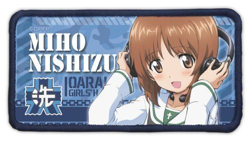 Sword Art Online II Sinon Character Removable Badge Patch Wappen Cospa Anime