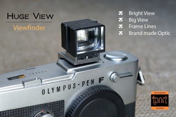 Énorme-v 28 Mm 24 Mm Viseur Finder Fit Leica Voigtlander Zeiss Canon Objectif Photo Technologies SophistiquéEs