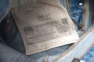 f6dd536d Clothing, Shoes & Accessories Men's Clothing Levi's Levis Nwt Mens 501 Logo Taper  Sports Stripe Jeans ...