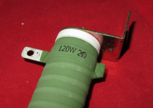 120W 2ohm Audio Tube Power Amplifier Audio Loads Supply Test Wirewound Resistor