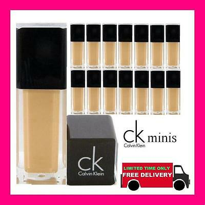 12 mini calvin klein foundation wholesale joblot clearance ck soft beige new uk
