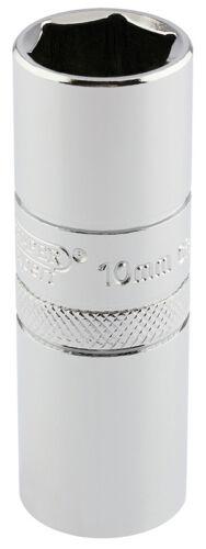 "DRAPER 1//2/"" Sq Dr 10mm Thread 6 Point Spark Plug Socket 16mm Socket 16778"