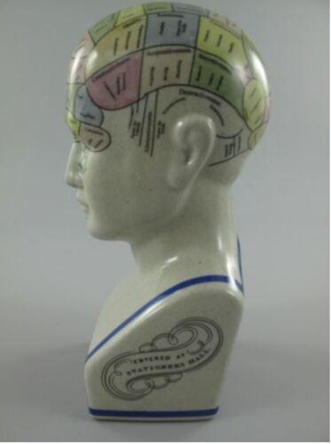 Porzellankopf Fowler Skulpturen /& Statuen H.30cm Vintage Ästhetik Geschenk
