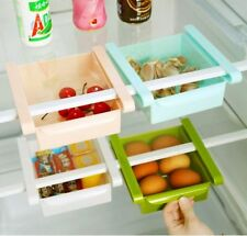 Slide Shelf Drawer Kitchen Fridge Table Storage Organiser Box Rack Holder 1Piece