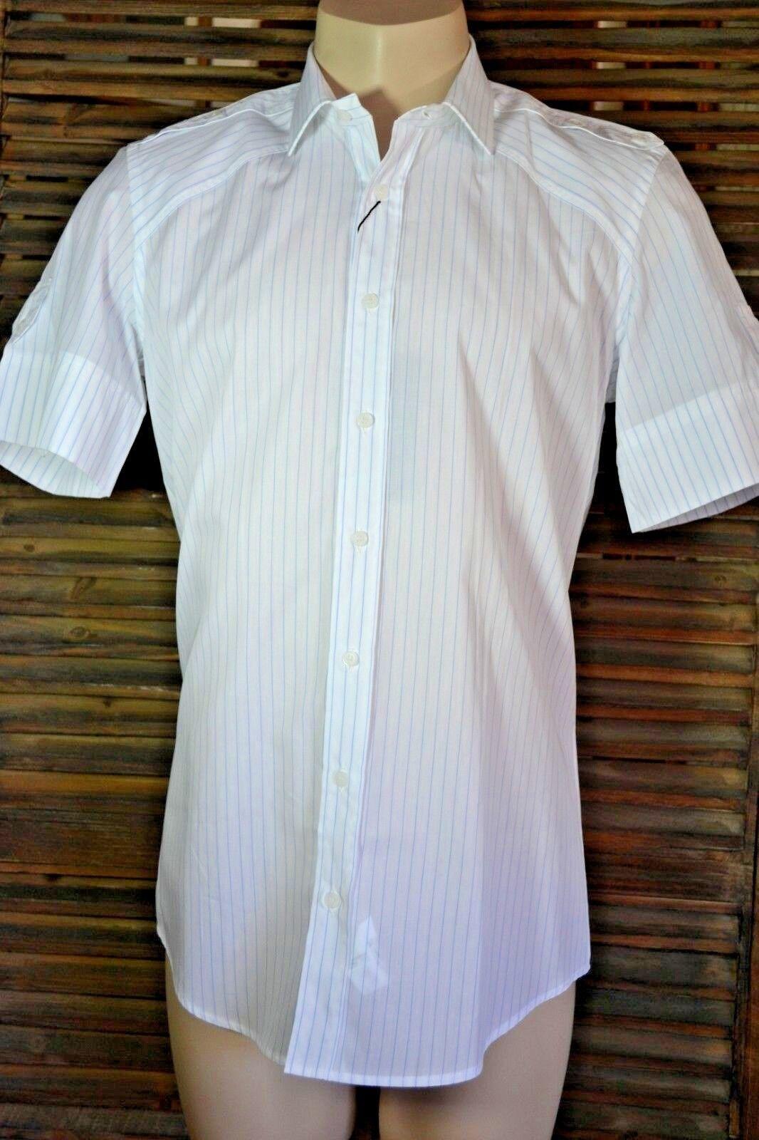 DOLCE & GABBANA D & G Hemd shirt chemise 15,1/2 / 39 / M  SLIM FIT neu  NEW