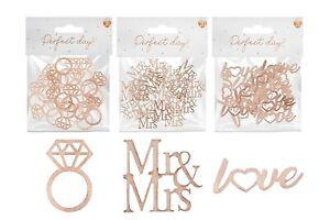Matrimonio-Decorazione-Tavola-rustico-in-legno-piccolo-cuore-confetti-Decor-Fidanzamento