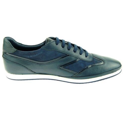 Charles Stone Uomo Sneaker 1974 Scarpe Blu Navy Sport Cuoio Di Casuali rrxwRHnq