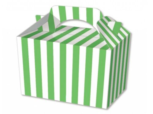 30 Stripe Striped Food Boxes Picnic Lunch Gift Box Wedding Favour Birthday Party