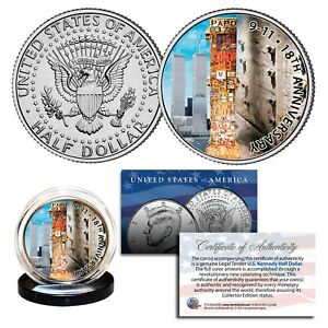 WORLD-TRADE-CENTER-18th-Anniversary-2019-Kennedy-Half-Dollar-U-S-Coin-9-11-WTC