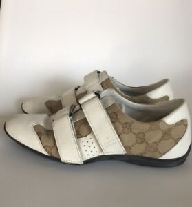 377371911427b Image is loading 100-Authentic-Women-s-Gucci-Monogram-Sneakers-6