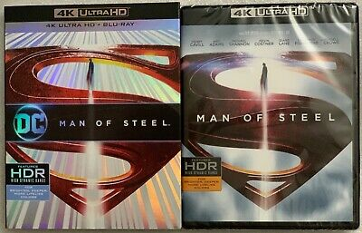 New Dc Man Of Steel 4k Ultra Hd Blu Ray 2 Disc Set Rare Oop Slipcover Sleeve 883929654338 Ebay