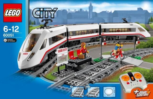LEGO City 60051: High-speed Passenger Train BrandNEW Sealed Melb Pickup