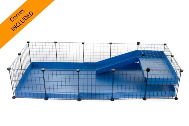 C&C cage for guinea pig (5x2 - 69x28in) - ALL CORREX INCLUDED