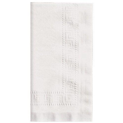 Hoffmaster 120051 Linen-Like Dinner Napkin, 1 8 Fold, 17  L x 17  W Case of 300