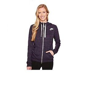 b66ba9418433 NEW Nike SportsWear Hoodie Women s Sz XS Full Zip Sweatshirt 924081 ...