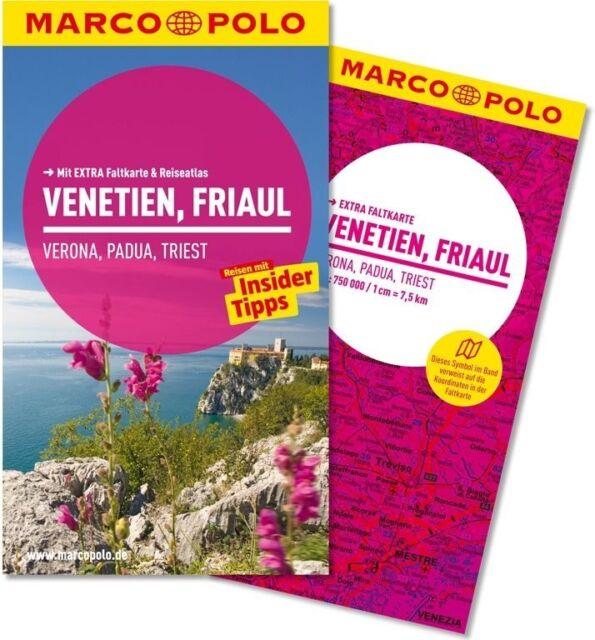 MARCO POLO Reiseführer VENETIEN, FRIAUL UNBENUTZT 2014 mit Karte statt 11,99 nur