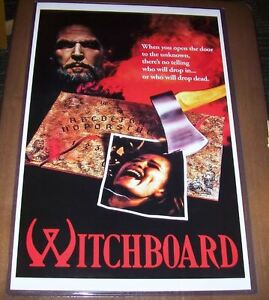 witchboard witch board tawny kitaen 11x17 horror movie poster ebay