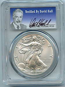 2017-1oz-Silver-Eagle-Coin-PCGS-MS70-First-Strike-Verified-by-David-Hall-C35