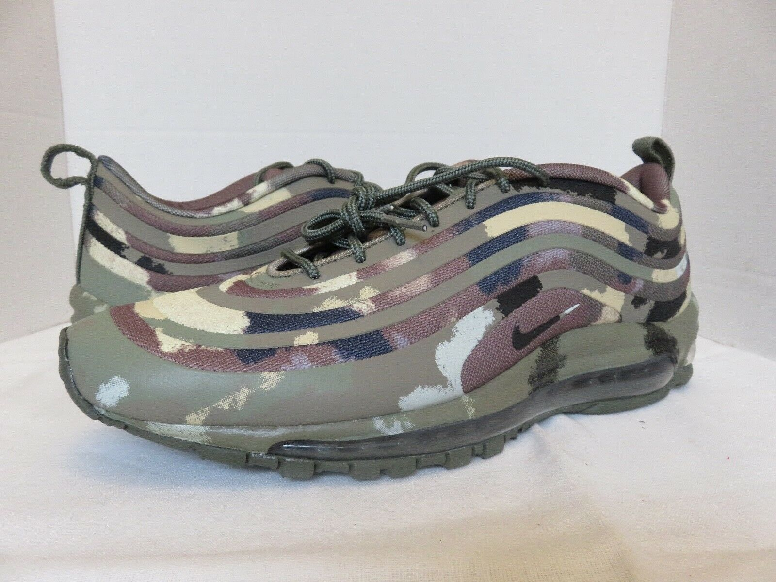 Nike Air Max 97 SP Country Camo Pack  Flag Men's Size 10 Sneakers shoes DS