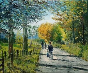 Dusan Malobabic - Road to Paradise - Original Oil Painting on Canvas - YouTube