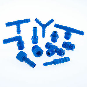 TEFEN-Hose-Tail-Connectors-Adaptors-Nylon-Pipe-Tube-Joiners-amp-BSP-Pipe-Fittings