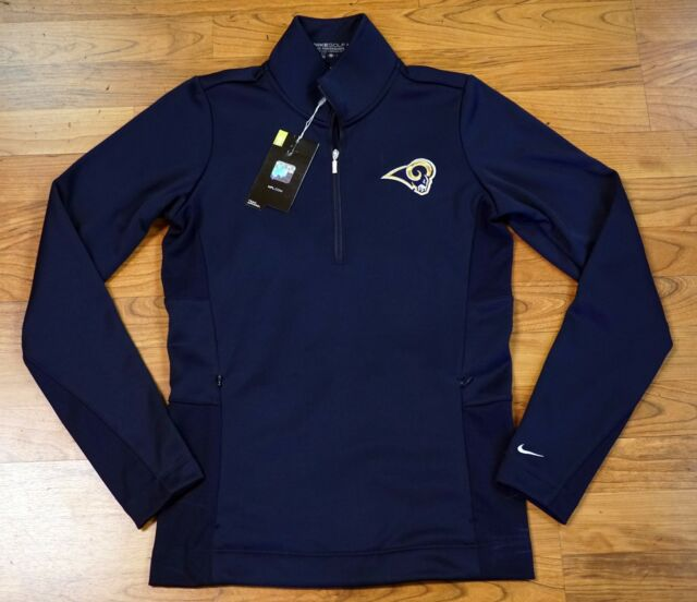 273d5bfd Nike Golf NFL Los Angeles La Rams Therma Fit Logo Women's Pullover Jacket M