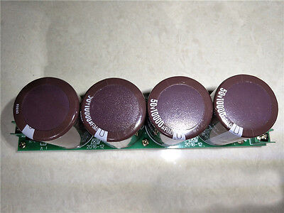 1)Amplifier Rectifier Filter Power Supply Board 4PCS 50V 10000uf Capacitors 1969