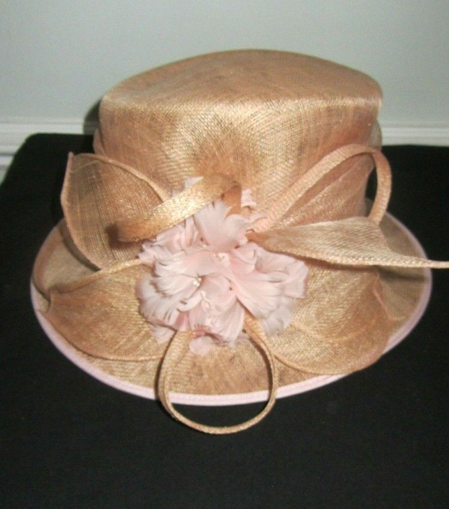lovely PEACH **FAILSWORTH** SPECIAL OCCASION HAT