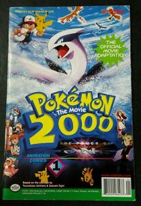 Pokemon The Movie 2000 The Power Of One 1 Viz Comics Ebay