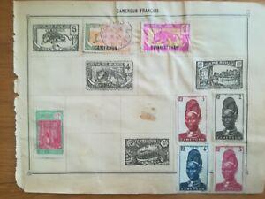 lot-N-234-7-timbres-Cameroun-Francais-1-Canada-a-decoller