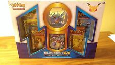 BLASTOISE EX Red and Blue Collection Box Factory Sealed NEW 4 Generations Packs