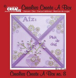 Crealies-Create-A-Box-No-8-Sending-cards-Stanze-fuer-Box-CCAB08-Stanzschablone