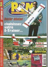 "RCM N°313 PLAN : LE ""DUNE"" / EXTRA 330 DE FLITON / E-TRAINER 140 DE GRAUPNER"