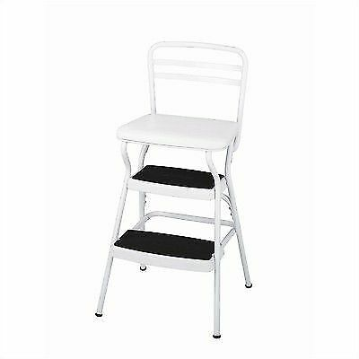 Cosco Chair Stool 200 Lb Capacity 17 1 2 White For Sale