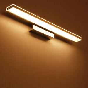 LED Acrilico Muro Specchio Trucco Punto Luce Frontale Lampada SMD 2835 Bagno Hotel